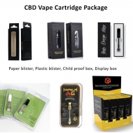 Different types Vape Cartridge Packaging Box CBD Carts Custom Boxes