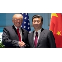 Xi Jinping Meets with U.S. President Trun Regular Telephone