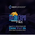 Best Grinder New Trade Show EUA CBD EXPO 2019 em Miami