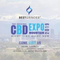 Beste grinder - Originele CBD Expo Mountain 2019 (stand # 602)
