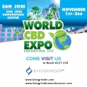Bester Schleifer - World CBD EXPO - 1. - 3. November - (Stand Nr. 227-229)